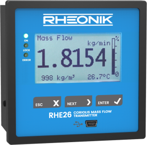 Rheonik RHE 26 display